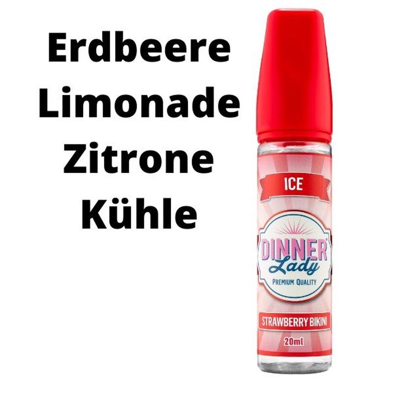 Dinner Lady Ice Strawberry Bikini Aroma 20ml