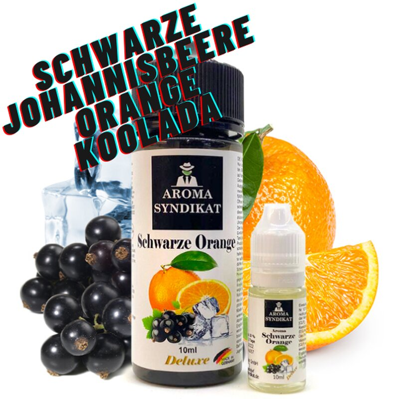 Schwarz Orange Aroma 10ml Aroma Syndikat