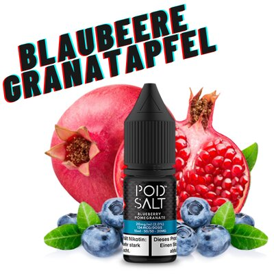 Pod Salt - Fusion Blueberry Pomegranate 10ml 20mg