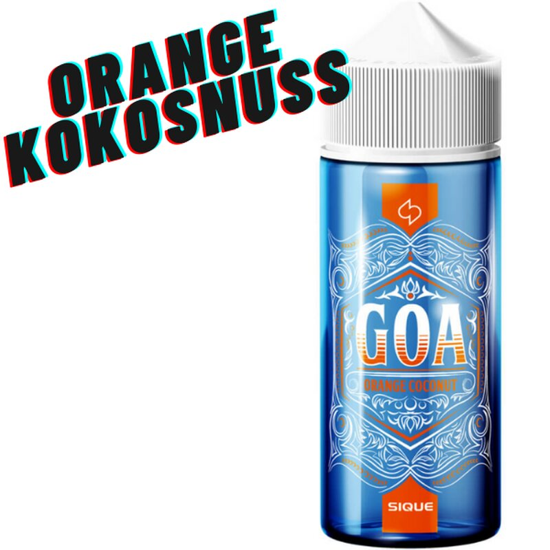 Goa E-Liquid 100ml Siquie