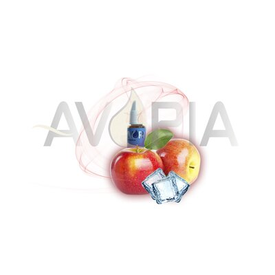 Ice Fresh Apple Aroma Avoria 12ml