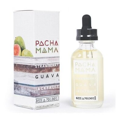 Strawberry Guava Jackfruit E-Liquid 50ml Pacha Mama
