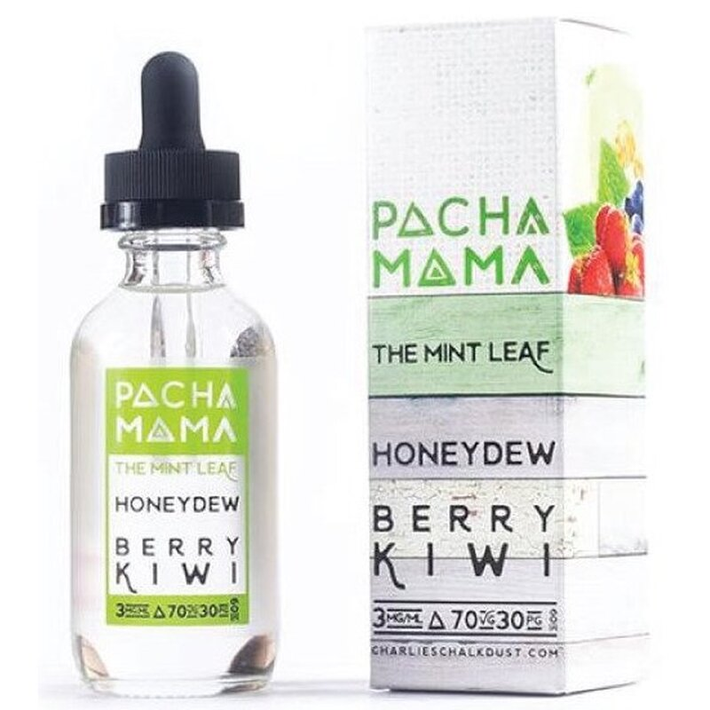 Mint Leaf Honeydew Berry Kiwi E-Liquid 50ml Pacha Mama (AB)