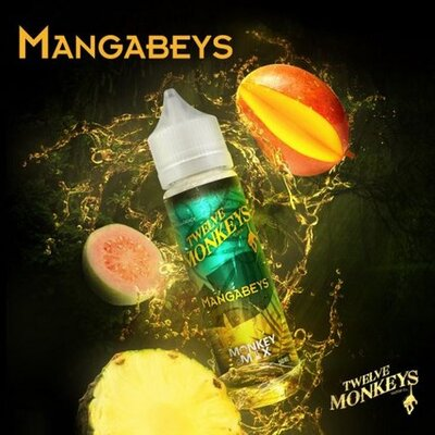Mangabeys E-Liquid 50ml Twelve Monkeys