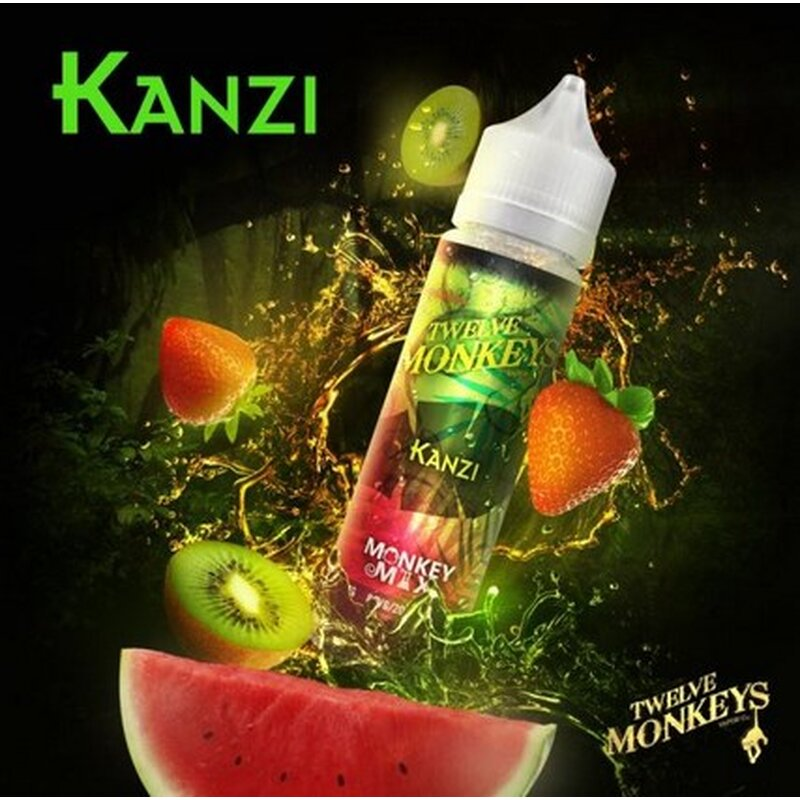 Kanzi E-Liquid 50ml Twelve Monkeys