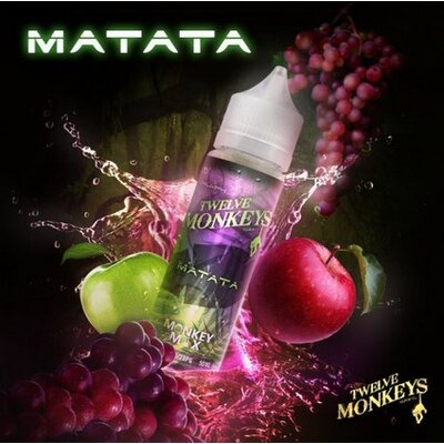 Matata E-Liquid 50ml Twelve Monkeys
