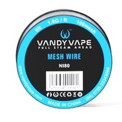 Vandy Vape Mesh Wire 5 ft NI80