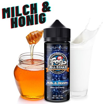 Milk & Honey Aroma 30ml Dr.Fog All Stras