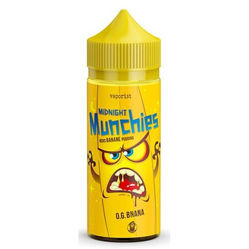 Midnight Munchies - O.G. Bnana E-Liquid 100ml Vaporist