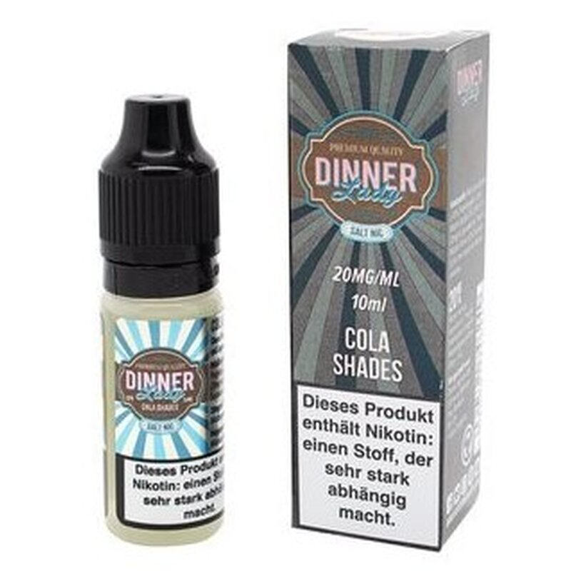 Dinner Lady Nicotine Salt Cola Ice 10ml