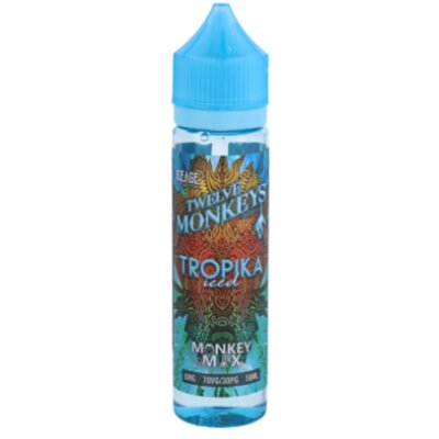 Tropika Iced E-Liquid 50ml Twelve Monkeys