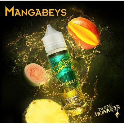 Mangabeys Iced E-Liquid 50ml Twelve Monkeys