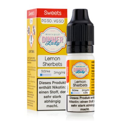 Lemon Sherbets E-Liquid 10ml Tuck Shop