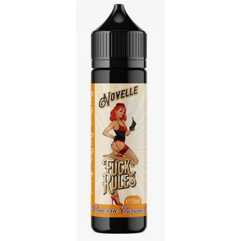 Popcorn Caramell Aroma 15ml Fuck The Rules Novelle